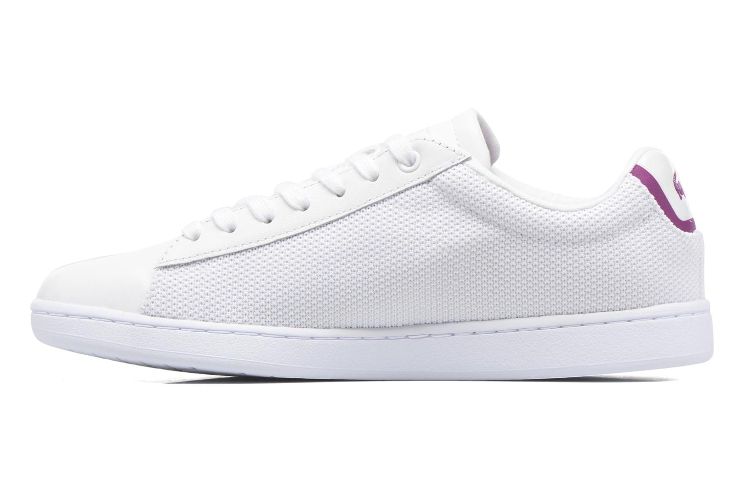 Sneakers Lacoste Carnaby Evo 117 5 Bianco immagine frontale