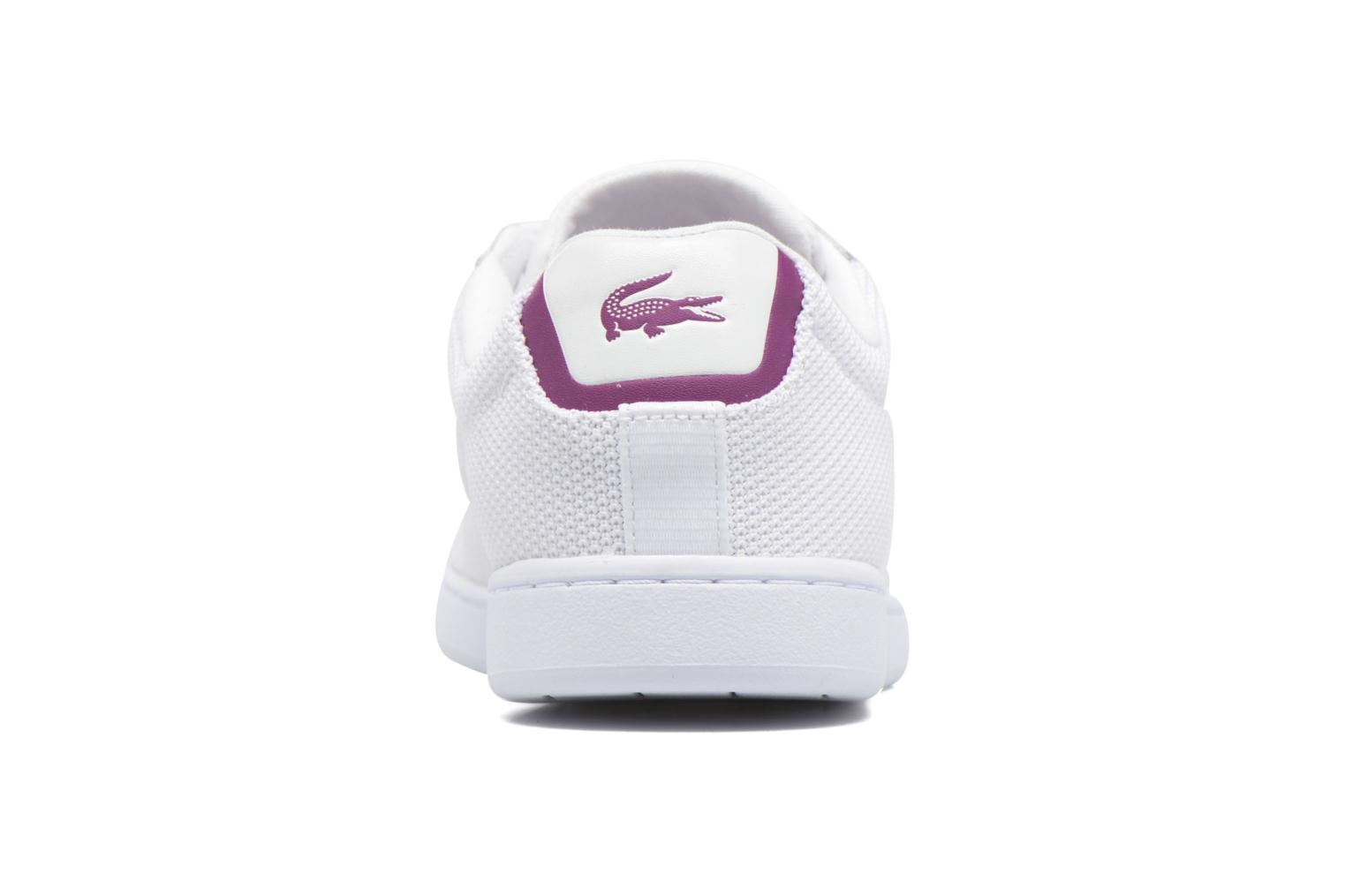 Baskets Lacoste Carnaby Evo 117 5 Blanc vue droite