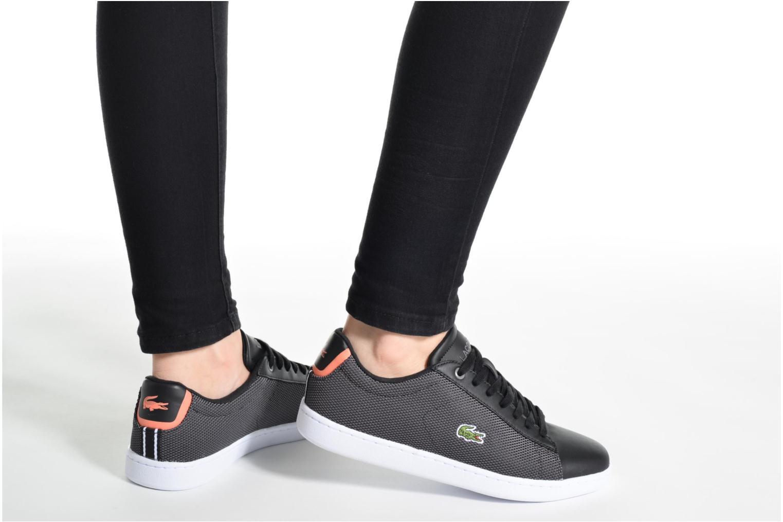 Sneakers Lacoste Carnaby Evo 117 1 Sort se forneden