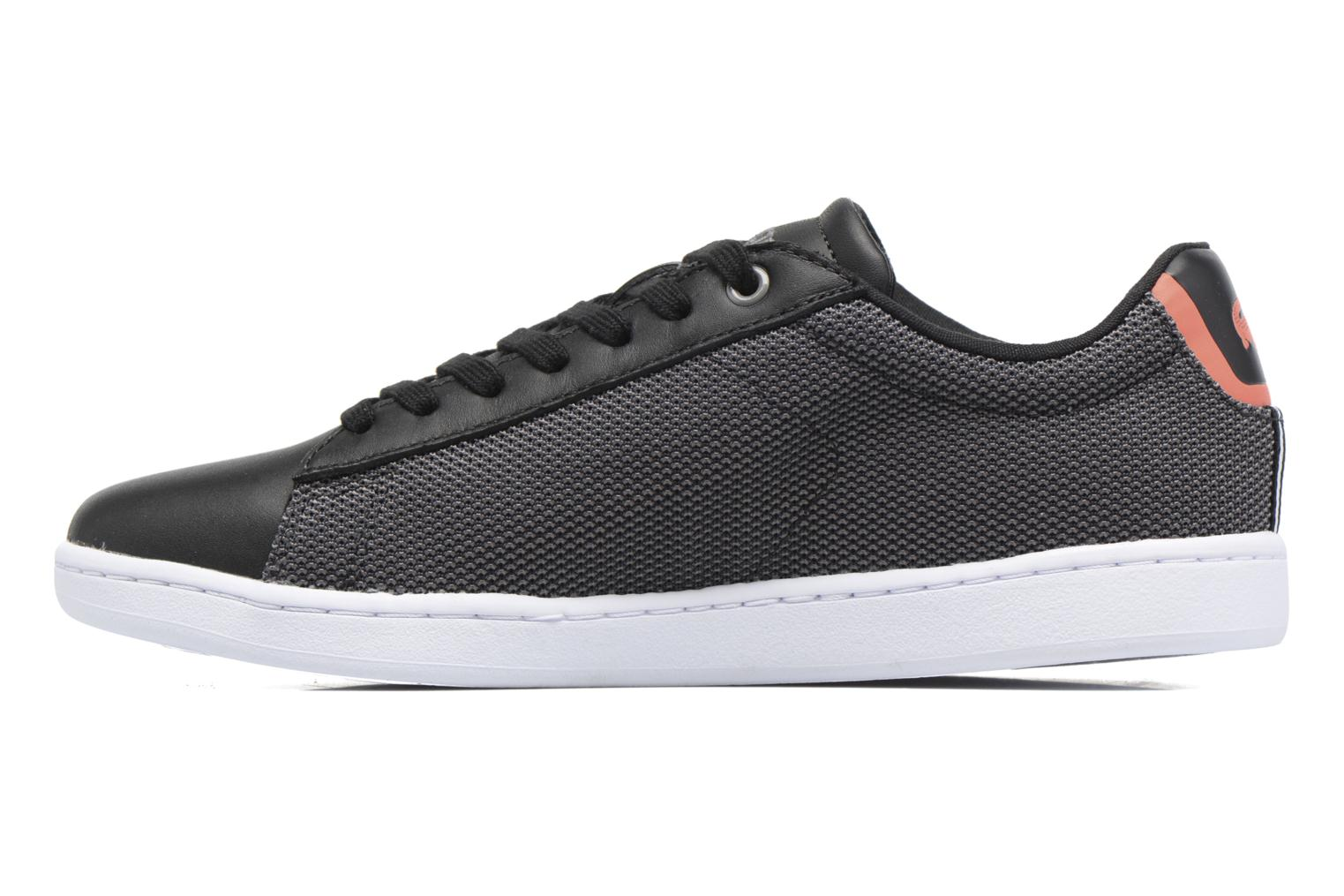 Baskets Lacoste Carnaby Evo 117 1 Noir vue face