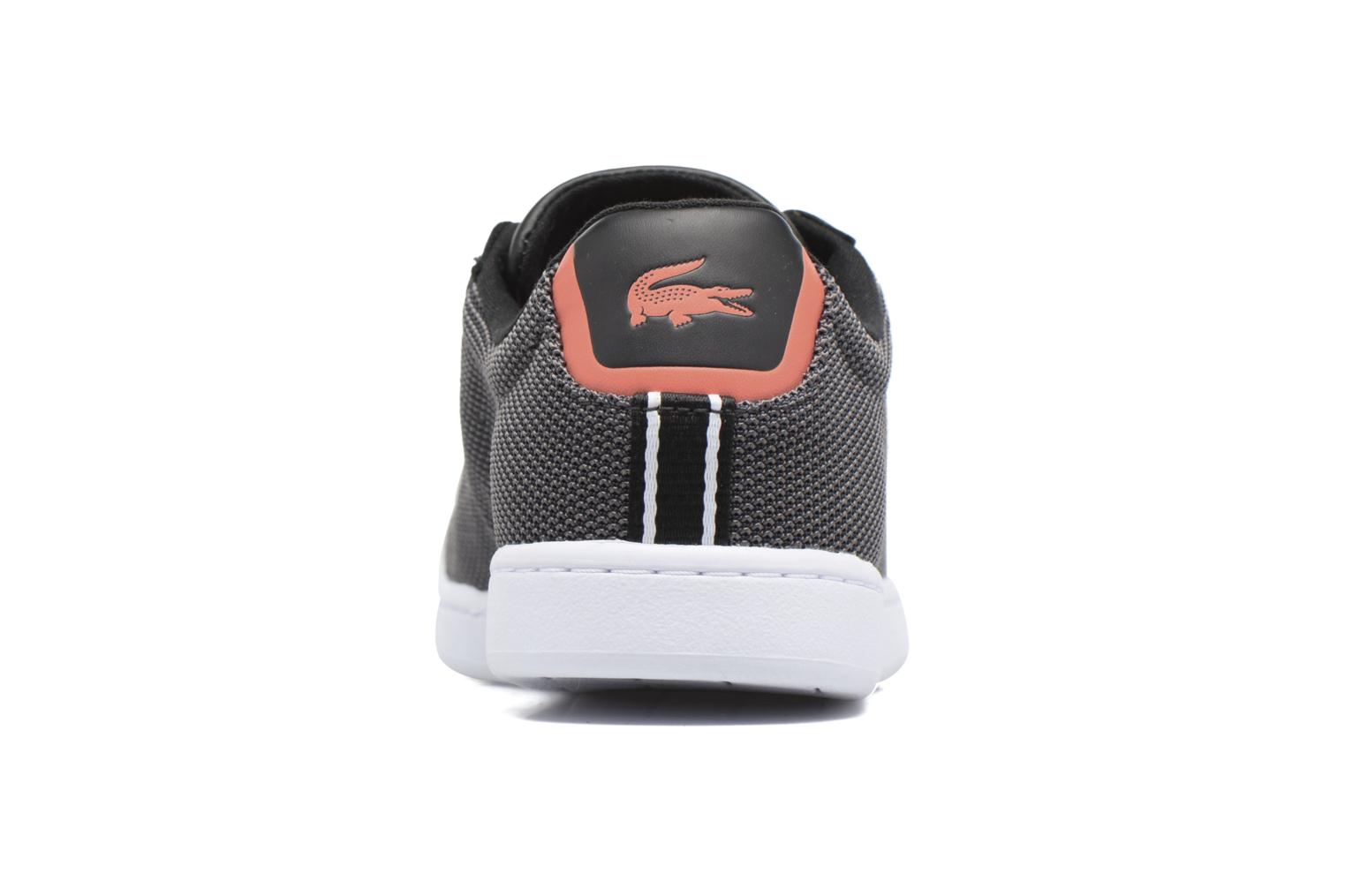 Baskets Lacoste Carnaby Evo 117 1 Noir vue droite