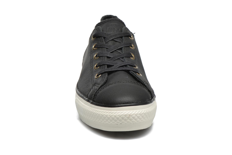 Baskets Converse Chuck Taylor All Star High Line Ox Noir vue portées chaussures