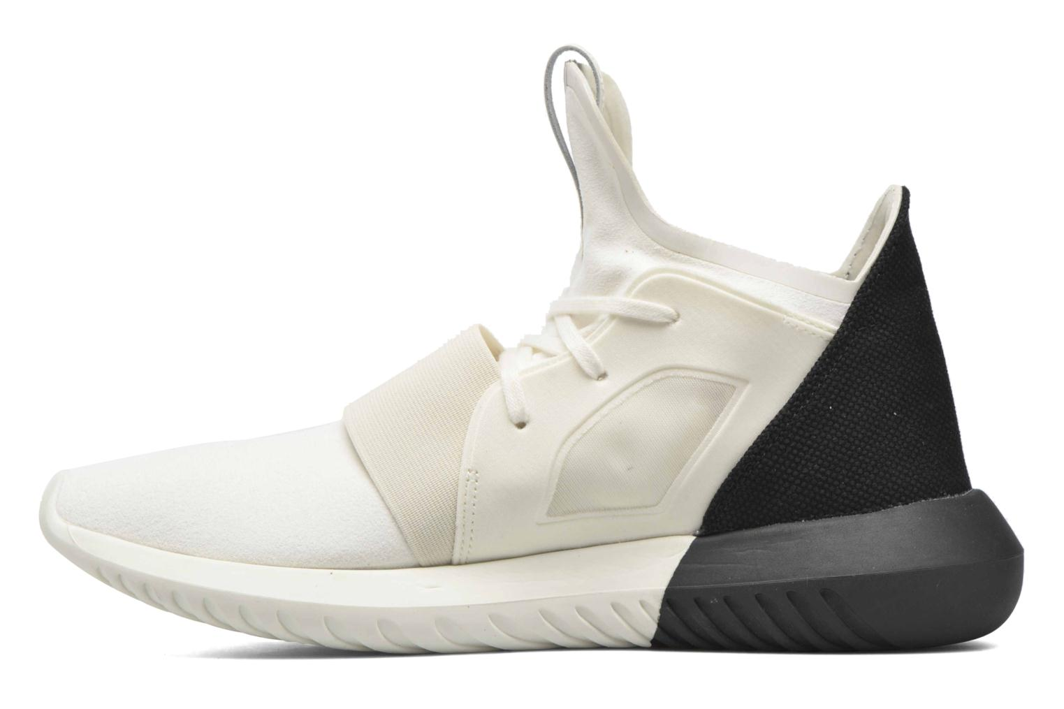 Baskets Adidas Originals Tubular Defiant W Blanc vue face