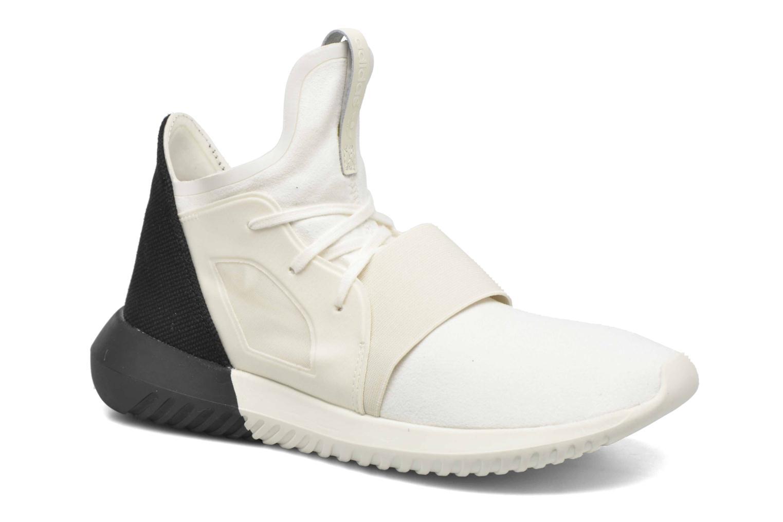 Baskets Adidas Originals Tubular Defiant W Blanc vue détail/paire
