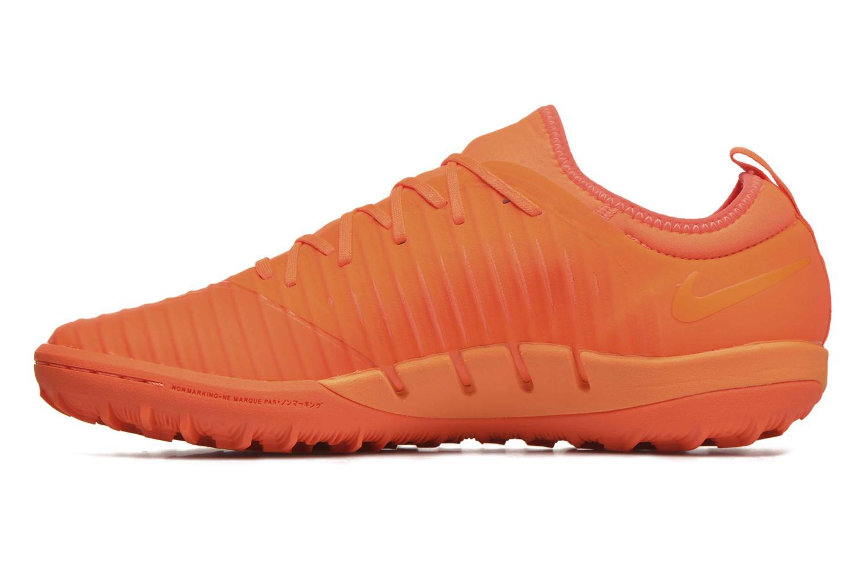 Chaussures de sport Nike Mercurialx Finale Ii Tf Orange vue face