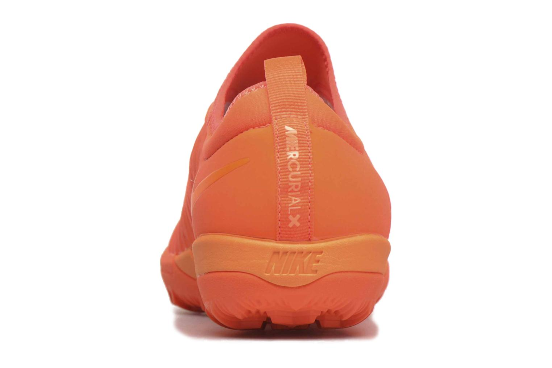 Chaussures de sport Nike Mercurialx Finale Ii Tf Orange vue droite