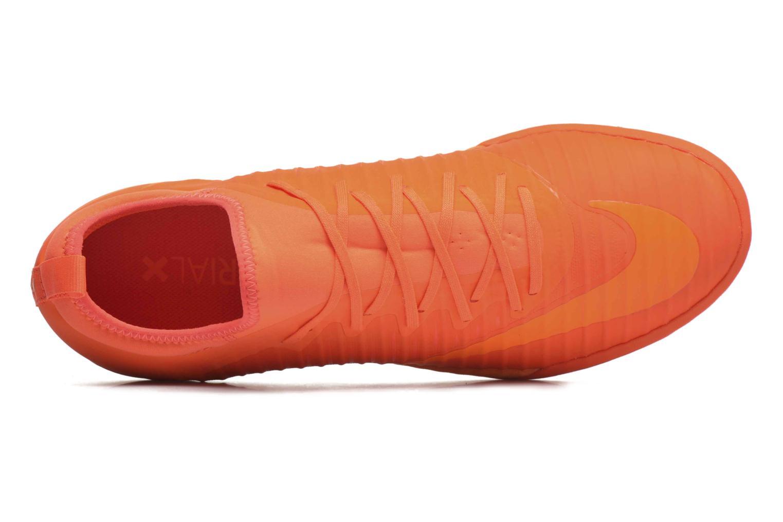 Chaussures de sport Nike Mercurialx Finale Ii Tf Orange vue gauche