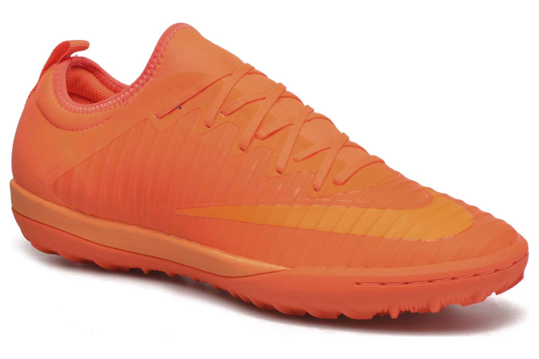 Sportssko Nike Mercurialx Finale Ii Tf Orange detaljeret billede af skoene