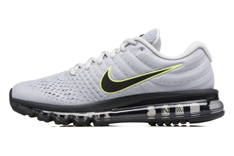 Chaussures de sport Nike Nike Air Max 2017 Gris vue face