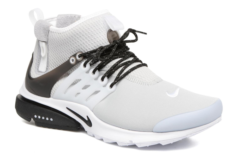 Deportivas Nike Nike Air Presto Mid Utility Gris vista de detalle / par