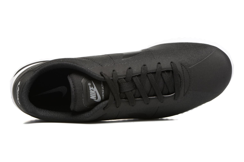 Deportivas Nike Nike Cortez Ultra Negro vista lateral izquierda