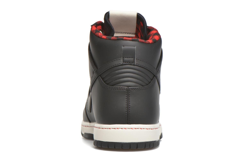Deportivas Nike Nike Dunk Ultra Negro vista lateral derecha