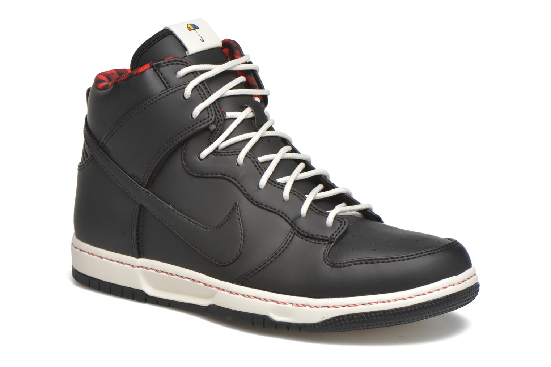 Nike Dunk Ultra Black/Black-Sail-Sport Red