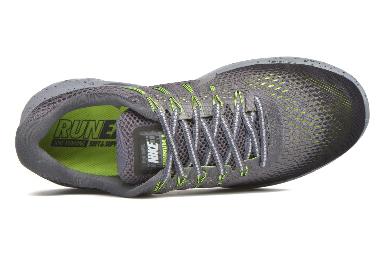 Nike Lunarglide 8 Shield Dark Grey/Metallic Silver-Black-Volt