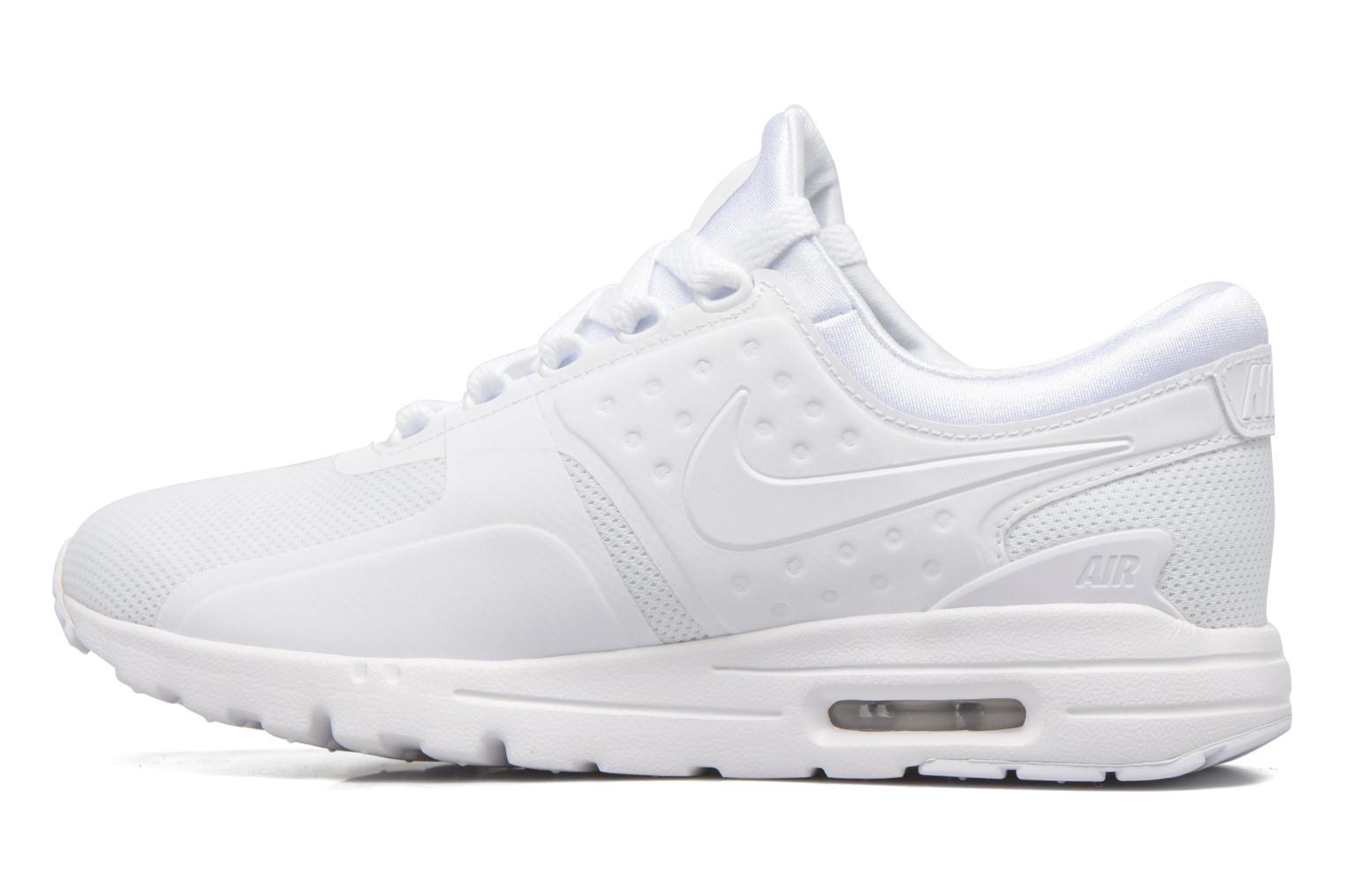 Baskets Nike W Air Max Zero Blanc vue face