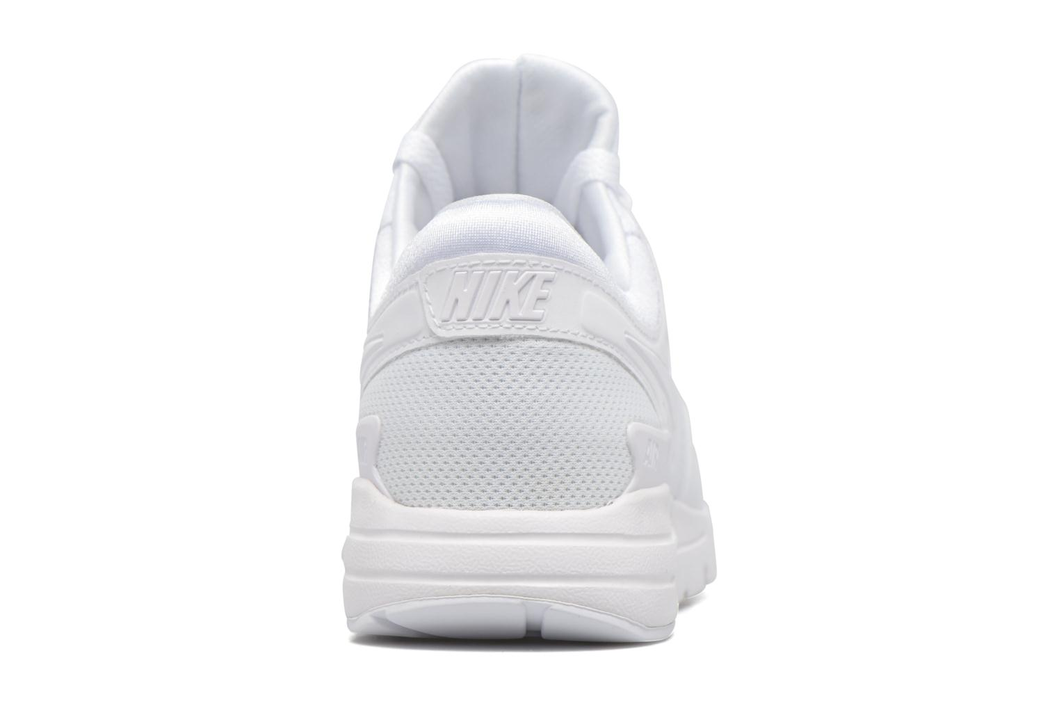 Trainers Nike W Air Max Zero White view from the right