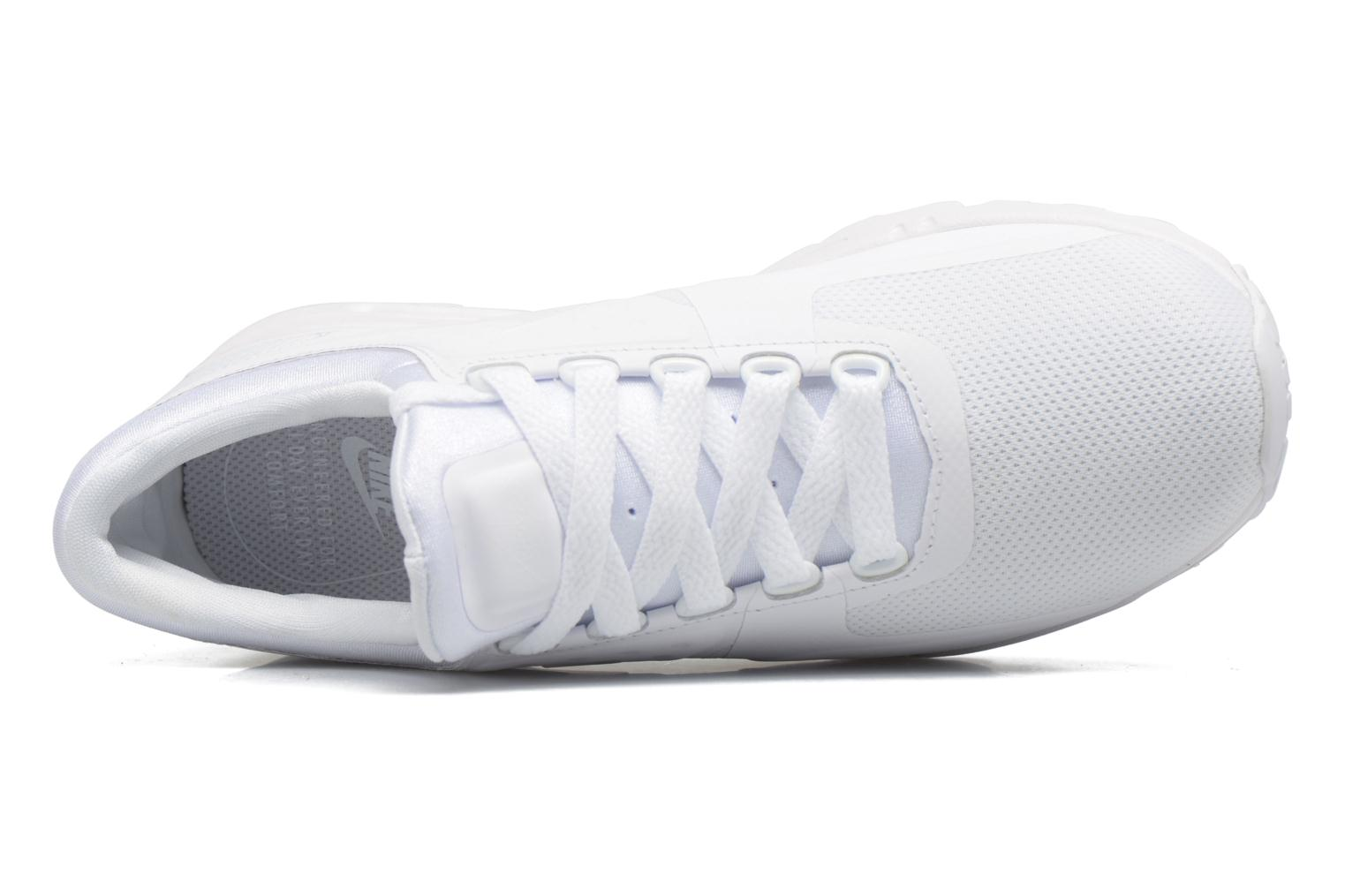 Trainers Nike W Air Max Zero White view from the left