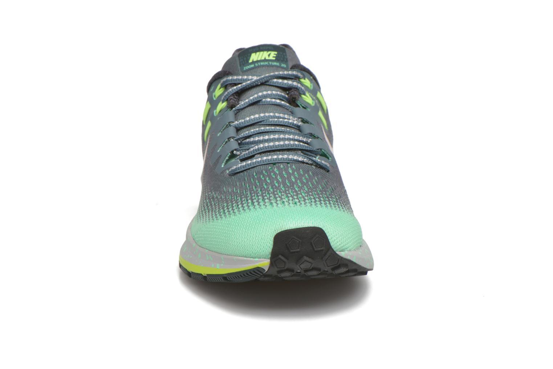 Chaussures de sport Nike W Air Zoom Structure 20 Shield Vert vue portées chaussures