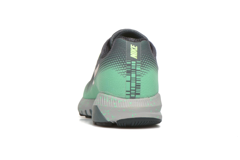 Chaussures de sport Nike W Air Zoom Structure 20 Shield Vert vue droite