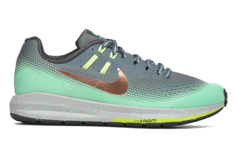 Chaussures de sport Nike W Air Zoom Structure 20 Shield Vert vue derrière