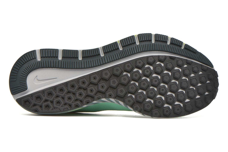 Chaussures de sport Nike W Air Zoom Structure 20 Shield Vert vue haut