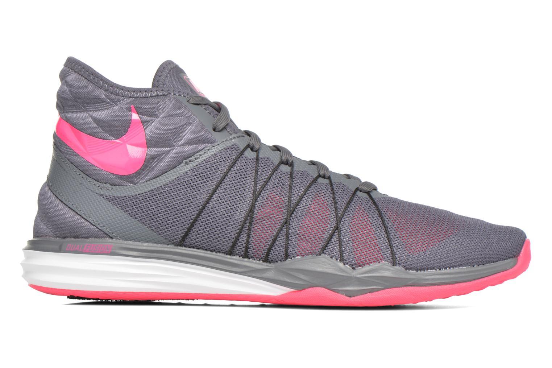 Chaussures de sport Nike W Nike Dual Fusion Tr Hit Mid Gris vue derrière