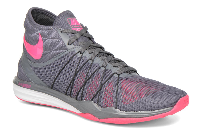 Chaussures de sport Nike W Nike Dual Fusion Tr Hit Mid Gris vue détail/paire