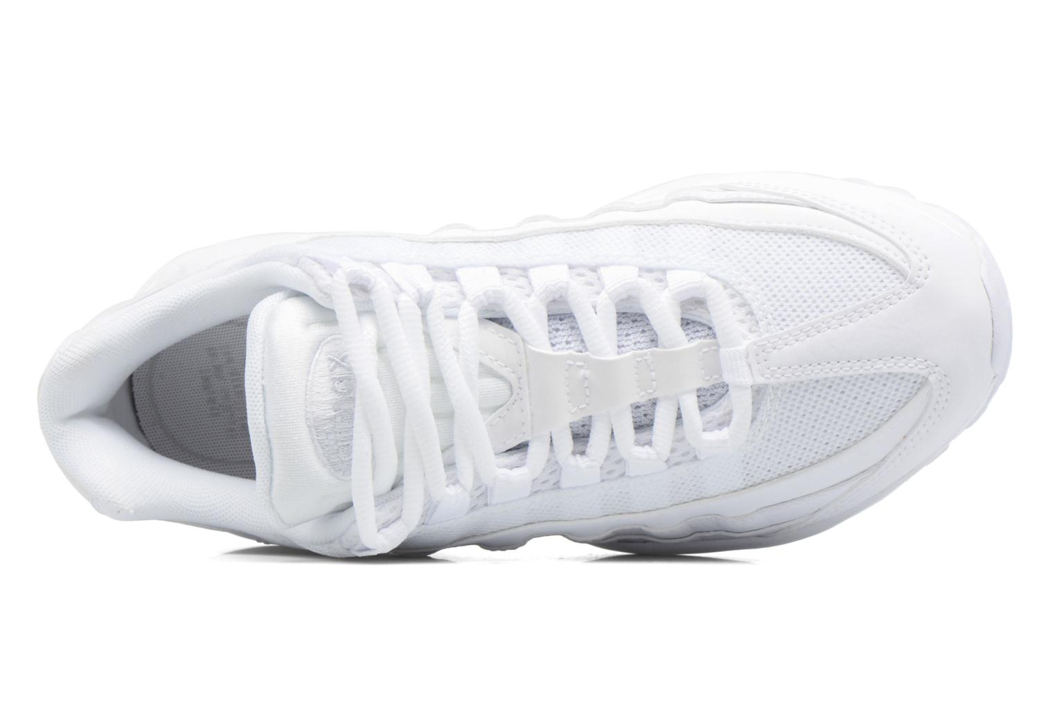 Wmns Air Max 95 White/White-Pure Platinum