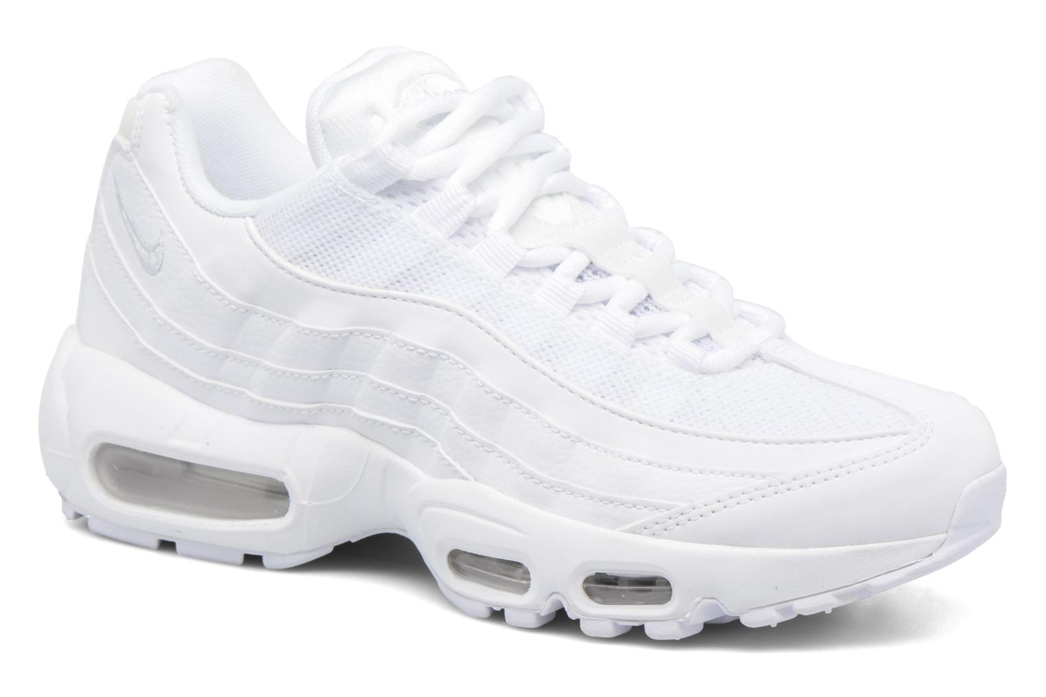 Baskets Nike Wmns Air Max 95 Blanc vue détail/paire