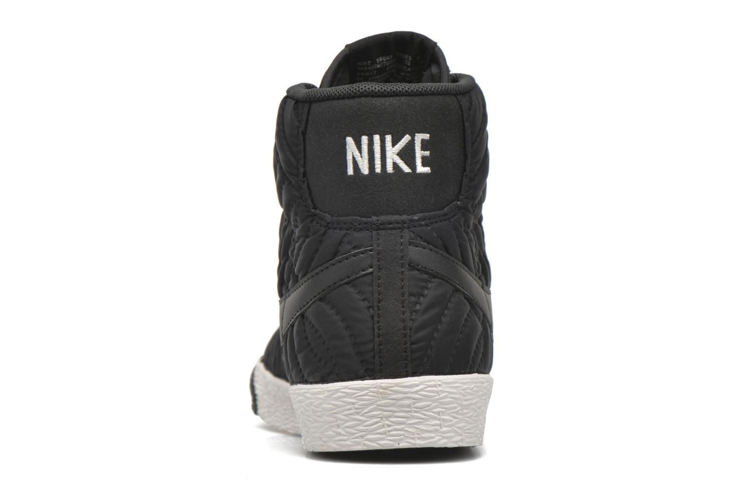 Trainers Nike Wmns Blazer Mid Prm Se Black view from the right