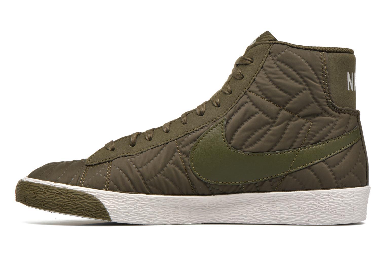 Baskets Nike Wmns Blazer Mid Prm Se Vert vue face