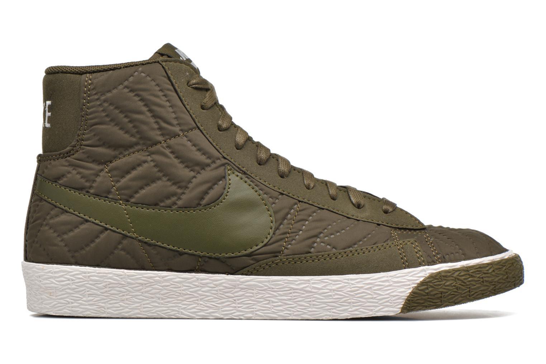 Baskets Nike Wmns Blazer Mid Prm Se Vert vue derrière