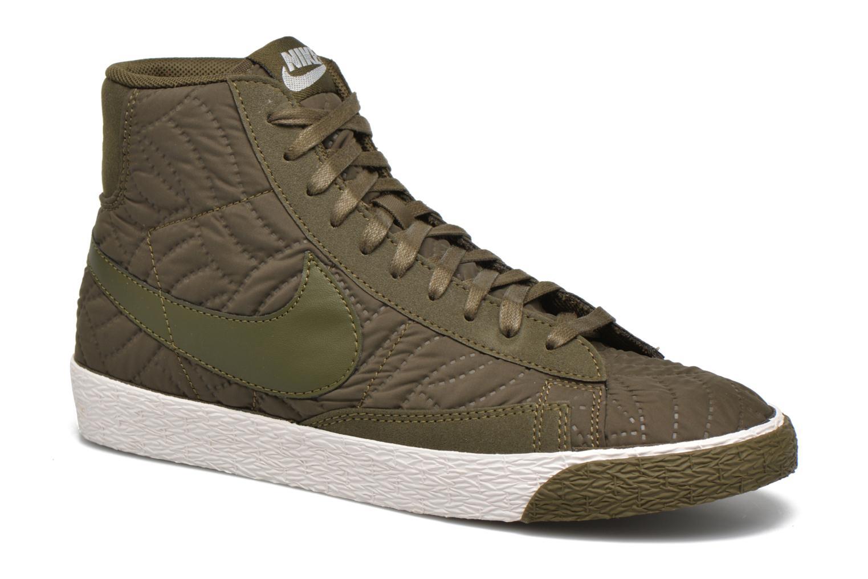 Marques Chaussure femme Nike femme Wmns Blazer Mid Prm Se Dark Loden/Dark Loden-Ivory