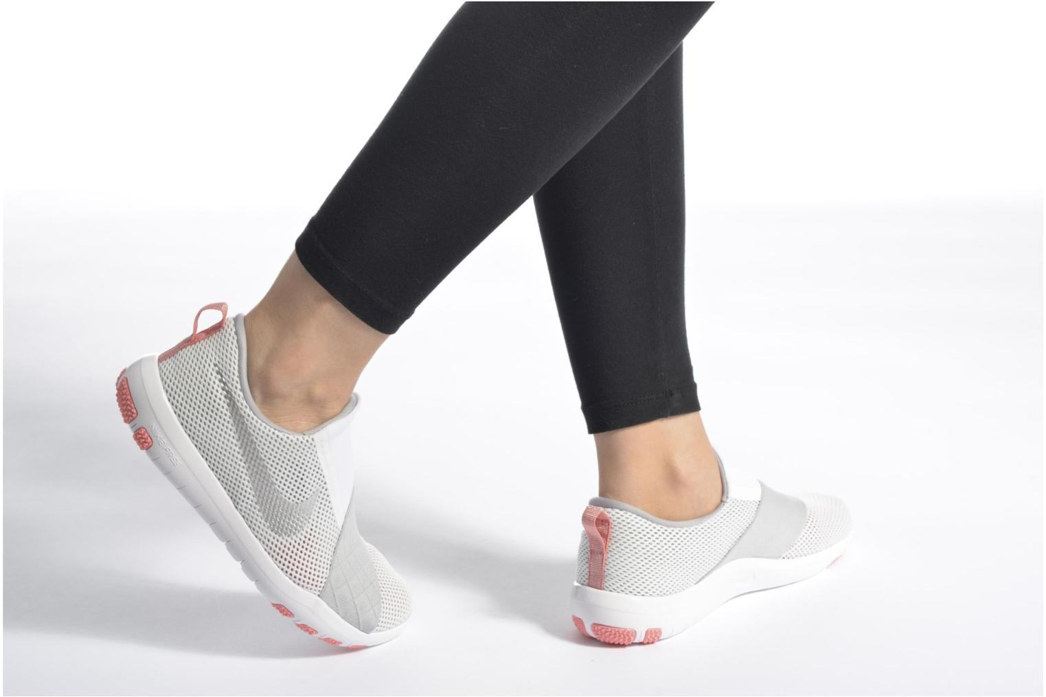 Wmns Nike Free Connect White/Metallic Silver-Wolf Grey
