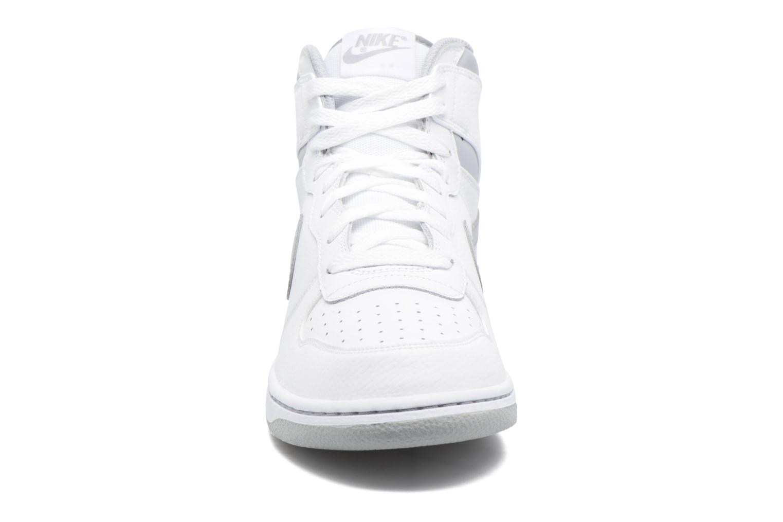 Sneaker Nike Big Nike High weiß schuhe getragen