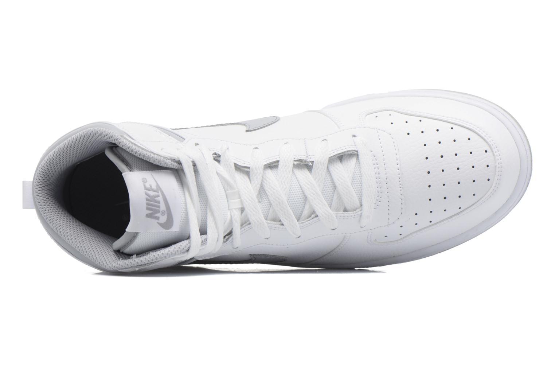 Sneaker Nike Big Nike High weiß ansicht von links