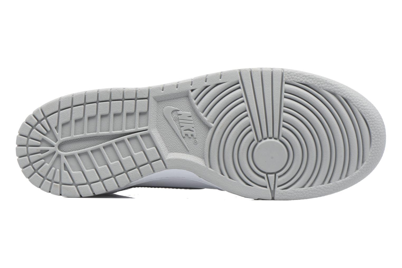 Baskets Nike Big Nike High Blanc vue haut