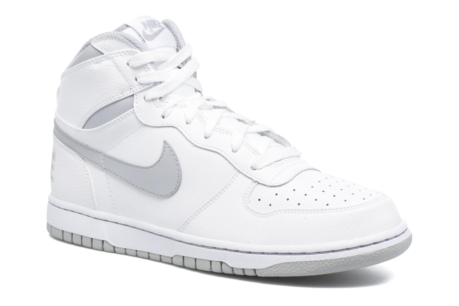 Trainers Nike Big Nike High White detailed view/ Pair view