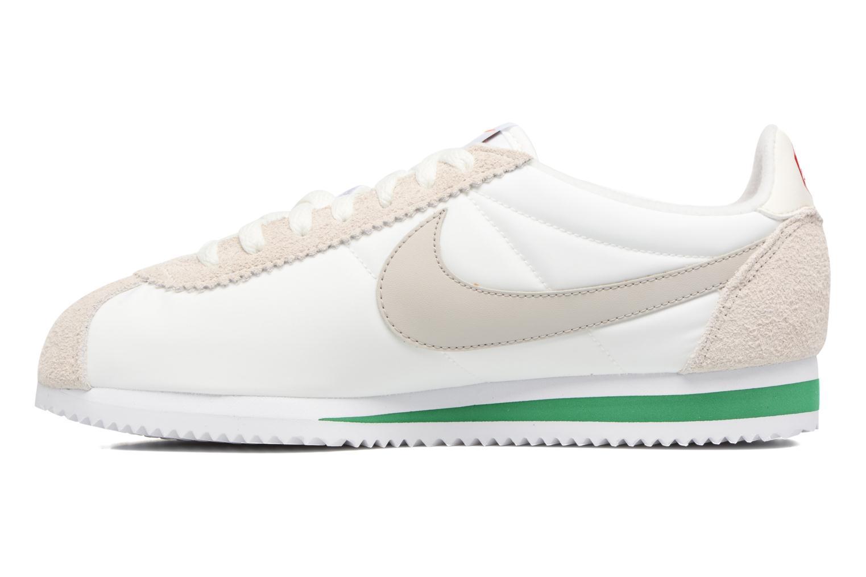 Sneakers Nike Classic Cortez Nylon Prem Wit voorkant