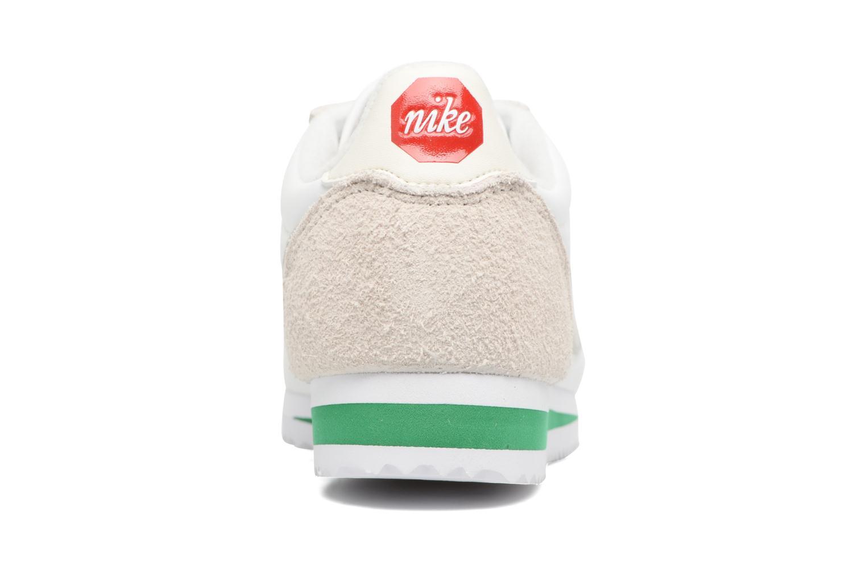 Deportivas Nike Classic Cortez Nylon Prem Blanco vista lateral derecha
