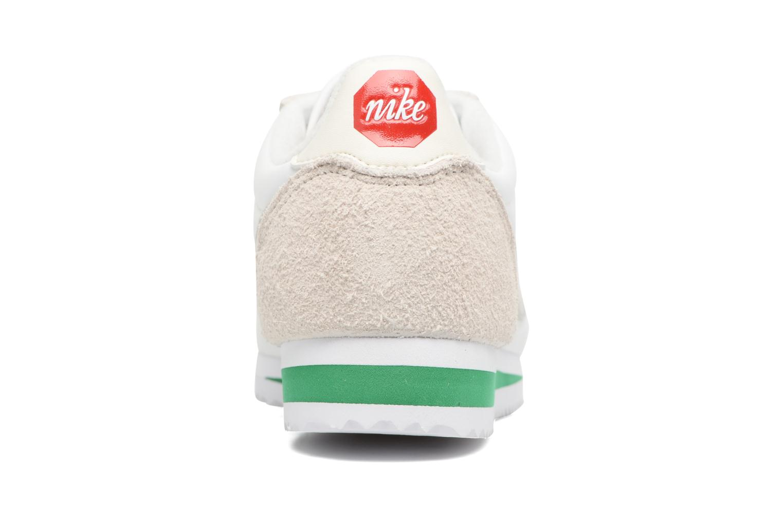 Sneaker Nike Classic Cortez Nylon Prem weiß ansicht von rechts