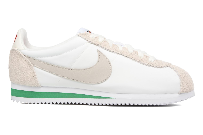 Sneakers Nike Classic Cortez Nylon Prem Wit achterkant