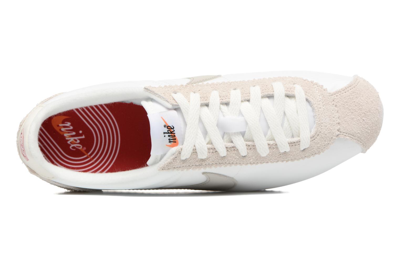 Sneaker Nike Classic Cortez Nylon Prem weiß ansicht von links