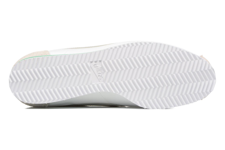 Sneaker Nike Classic Cortez Nylon Prem weiß ansicht von oben