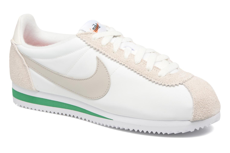 Deportivas Nike Classic Cortez Nylon Prem Blanco vista de detalle / par