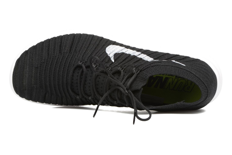 Nike Free Rn Motion Flyknit Black/White-Volt-Dark Grey