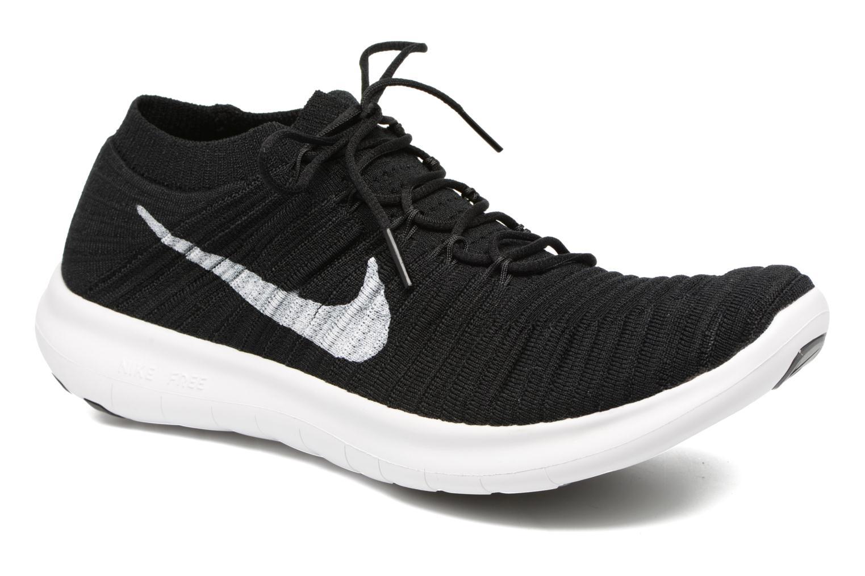 Chaussures de sport Nike Nike Free Rn Motion Flyknit Noir vue détail/paire