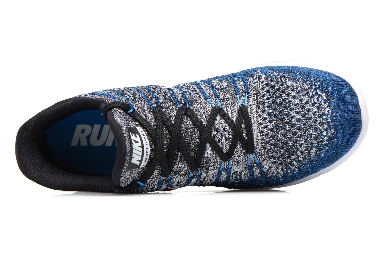 Zapatillas de deporte Nike Nike Lunarepic Low Flyknit 2 Azul vista lateral izquierda