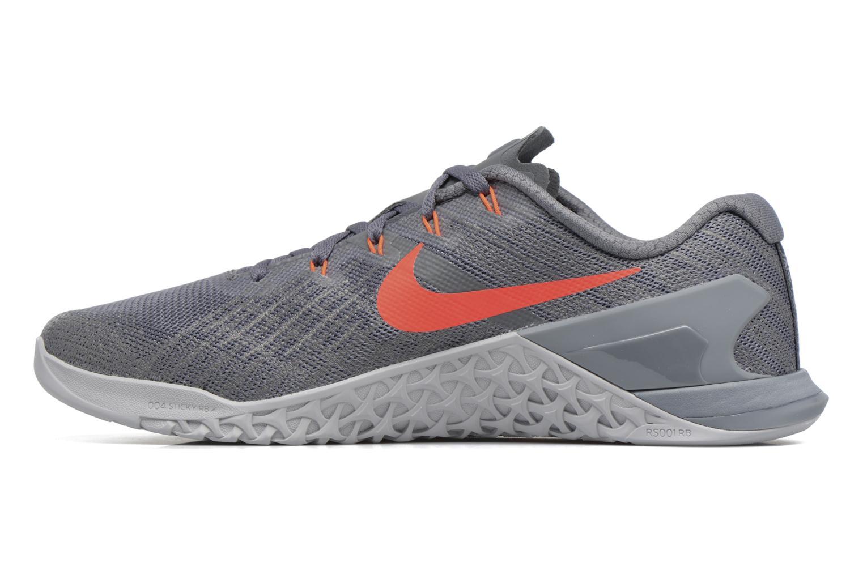 Nike Metcon 3 Dark Grey/Hyper Crimson-Wolf Grey