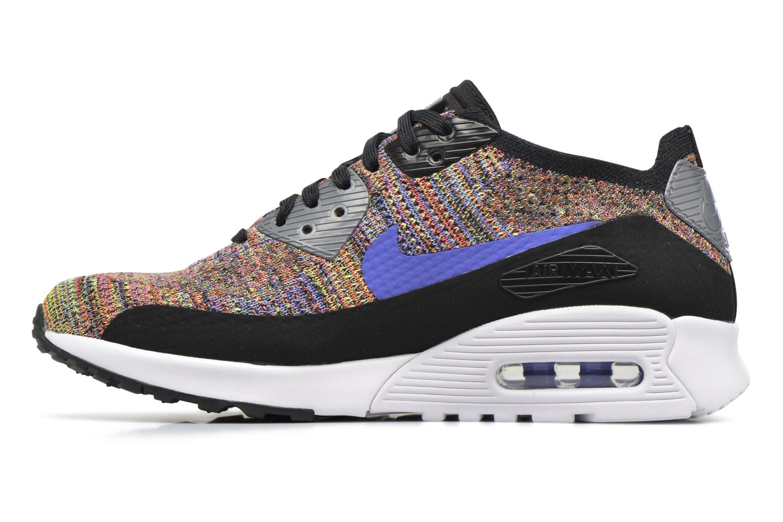Sneaker Nike W Air Max 90 Ultra 2.0 Flyknit schwarz ansicht von vorne